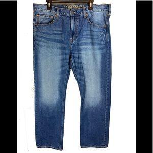 American Eagle original straight jeans 38X32